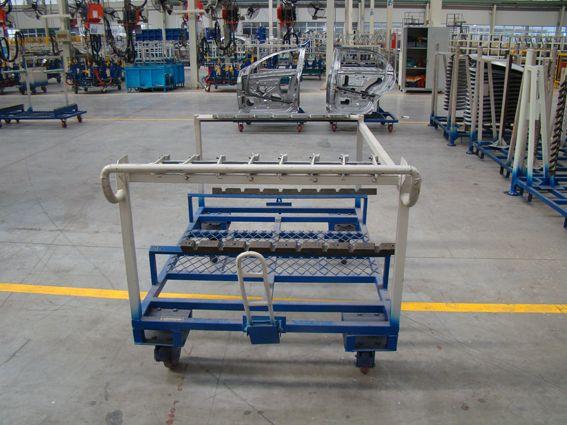201210231314257034 汽车零部件周转架,汽车零部件摆放架,汽车零部件料架