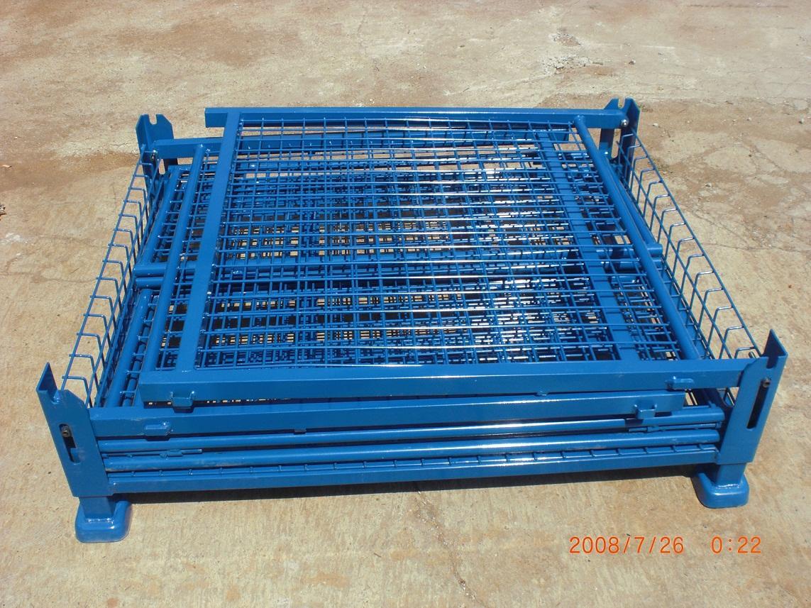 折叠式料箱,可折叠式钢制料箱,可折叠式重型仓储笼,生产可折叠式重型周转箱生产厂家,13451808688
